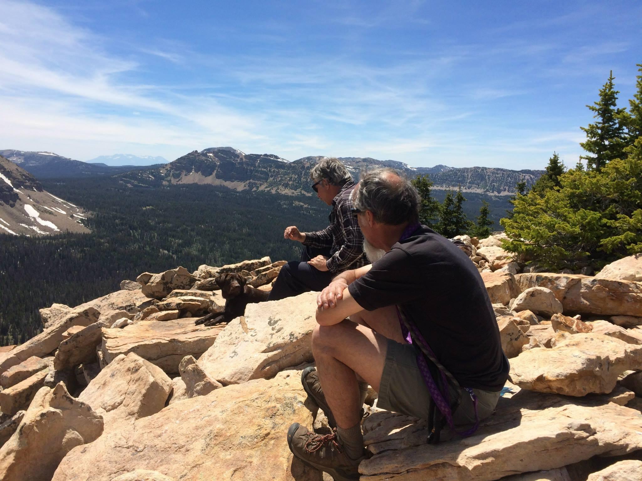 Hiking in Utah's Uinta Mountains