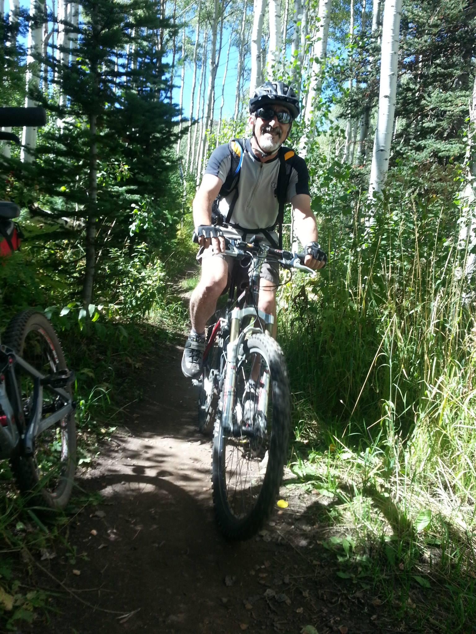Mountain Biking at Deer Valley in Park City, Utah