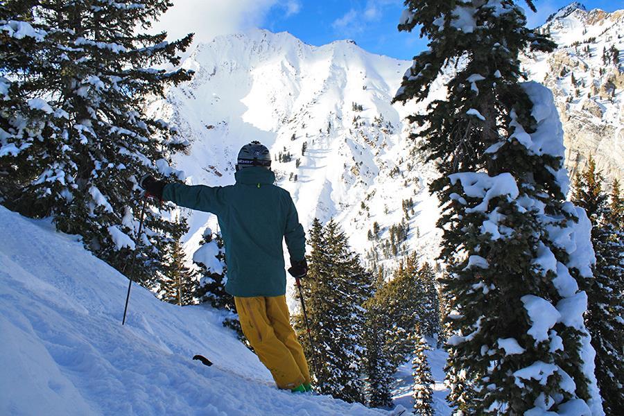 Surveying Alta Ski Area