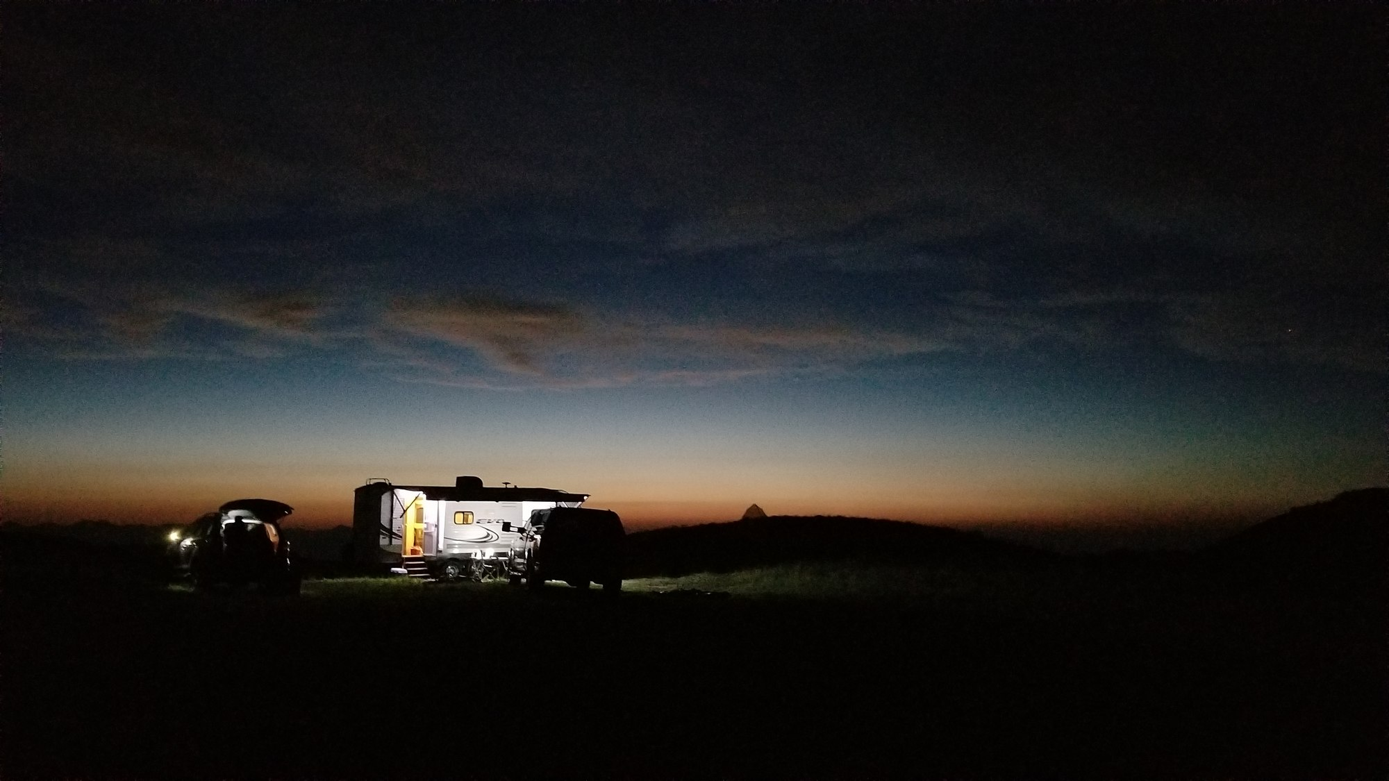 Boondocking near Heber Mountain, Utah