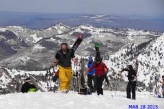 Climbing Mount Baldy at Alta Ski Area, Utah