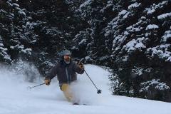 Powder day at Alta Ski Area, Utah!