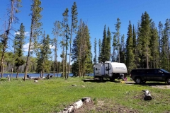 Boondocking at Lyman Lake in Utah's Uinta Mountains