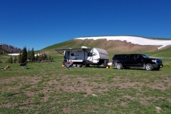Boondocking at 10,000 feet - Utah's Uinta-Wasatch-Cache National Forest