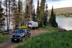Boondocking at Whitney Reservoir, Utah