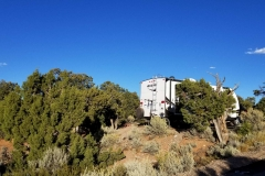 Free dry campground at Navajo National Monument in Arizona