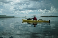Blackfoot Reservoir kayaking