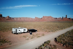 Our camp at Valley of the Gods