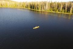 Kayaking Alexander Lake
